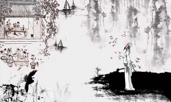 明月如霜,好风如水,清景无限。曲港跳鱼,圆荷泻露,寂寞无人见。紞如三鼓,铿然一叶,黯黯梦云惊断。夜茫茫,重寻无处,觉来小园行遍。