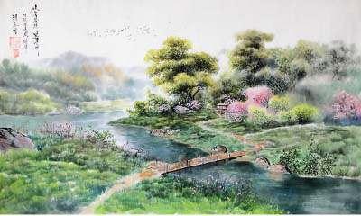 六曲阑干偎碧树。杨柳风轻,展尽黄金缕。谁把钿筝移玉柱。穿廉海燕双飞去。