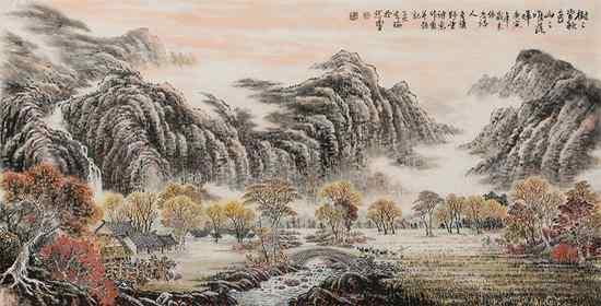 孤城铁瓮四山围,绝顶高秋坐落晖。