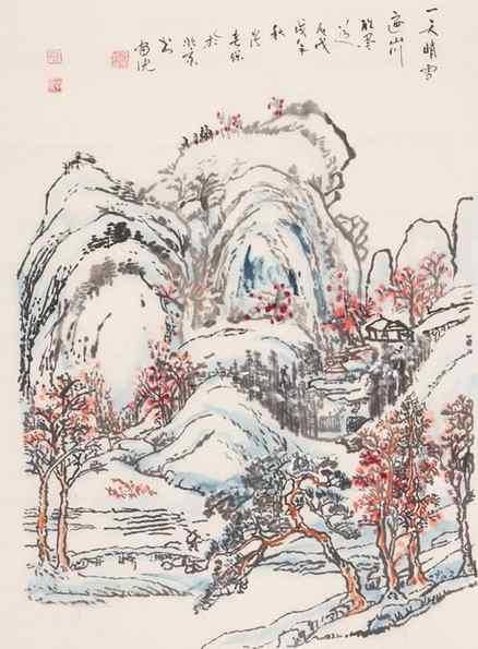 十丈黄尘千尺雪,可知俱不似江南。