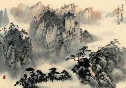 只在此山中,云深不知处