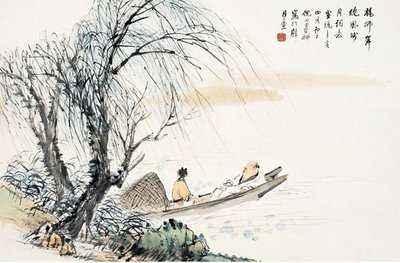 杨柳岸,晓风残月